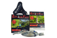 ZLX Xtreme 90' Zip Line with Carbon Fiber Trolley - ZLX