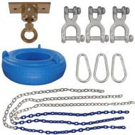 Swing Set Stuff Inc. Complete Tire Swing Kit with Light Duty Swivel and SSS Logo Sticker