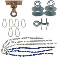 Swing Set Stuff Inc. Light Duty Tire Swivel Kit with SSS Logo Sticker