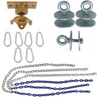 Swing Set Stuff Inc. Heavy Duty Tire Swivel Kit with SSS Logo Sticker