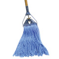 BLUE CUT END WET MOP NARROW BAND, 12/case