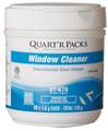 Window Cleaner Quart'R Packs, 4 X 80 X 1.5 g