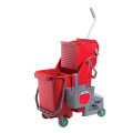 Restroom Bucket Combo, Red, 30 L