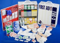 First Aid Kit, FAC-3 - Deluxe Cabinet, 3 Shelf