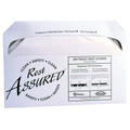 Rest Assured Toilet Seat Covers Half-fold 20/250 (5000/case)