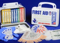 First-Aid Kit, 10M - ANSI General Purpose, Metal