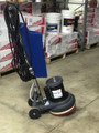 "Refurbished 13"" Rotary Scrubber W/ Solution Tank & Pad Holders"