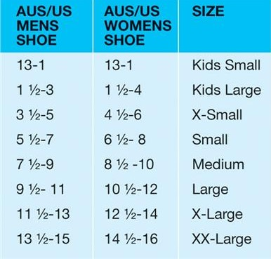orthotic-insoles-sizing-chart