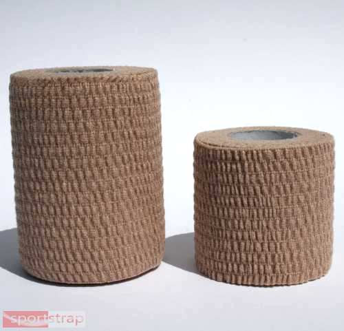 SportStrap Cotton Hand-Tear Stretch Tape - 2 Roll