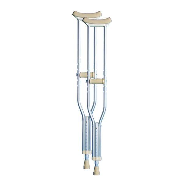 Underarm Crutches - Aluminium