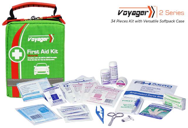 Voyager 2 - 34 Piece Kit - Versatile Softpack