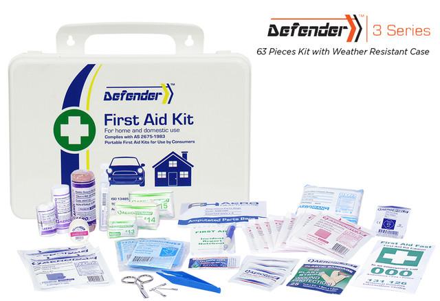 Defender 3 - 63 Piece Kit - Weather Resistant