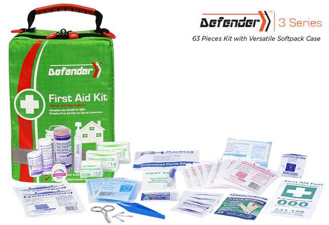 Defender 3 - 63 Piece Kit - Versatile Softpack