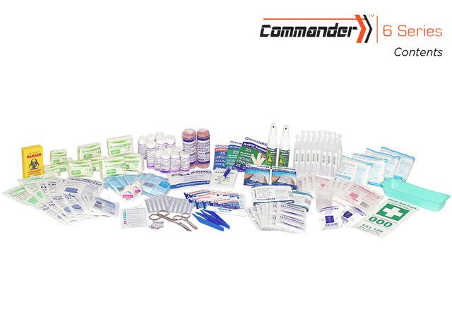 Commander 6 - Contents