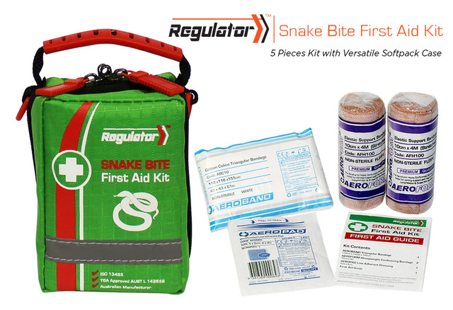 Regulator Snake Bite - 5 Piece Kit - Versatile Softpack