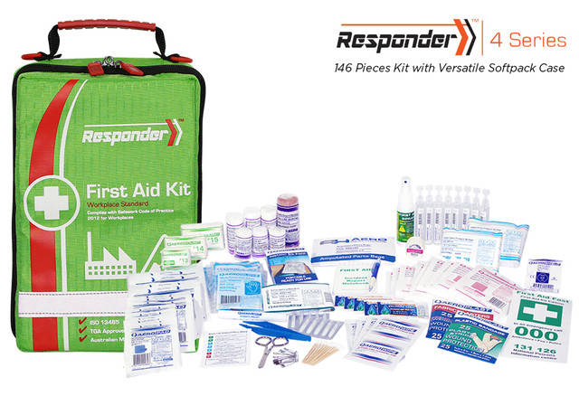 Responder 4 - 146 Piece Kit - Versatile Softpck Case