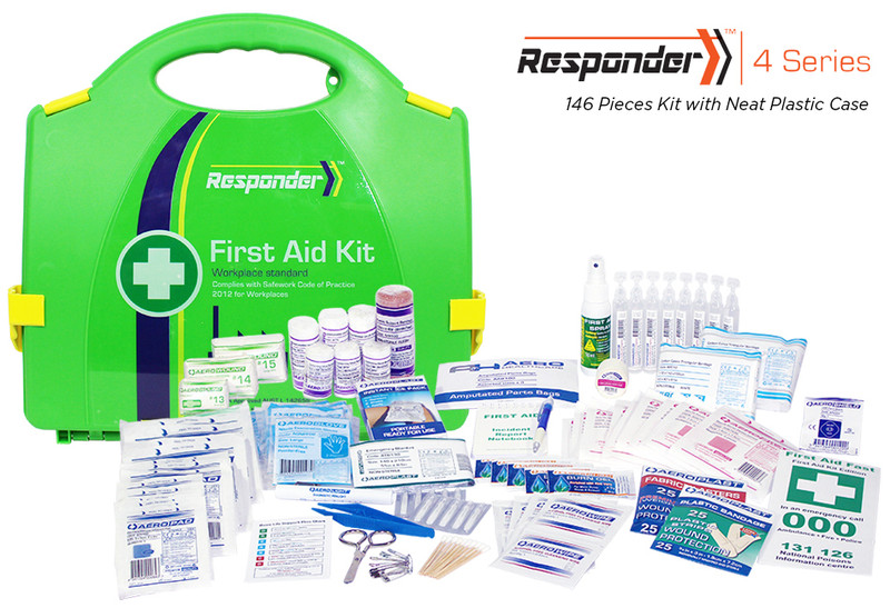Responder 4 - 146 Piece Kit - Neat Plastic Case