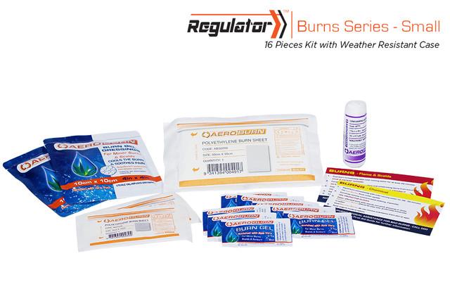 Regulator Burns Small - 16 Piece Kit