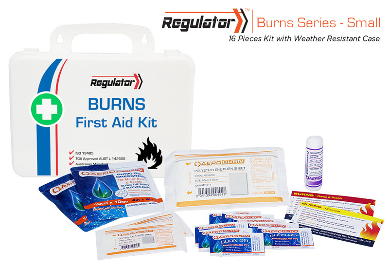 Regulator Burns Small - 16 Piece Kit - Weather Resistant Case