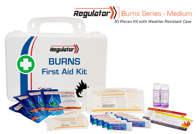 Regulator Burns Medium - 30 Piece Kit - Weather Resistant Case