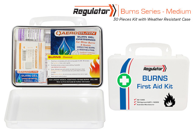 Regulator Burns Medium - Weather Resistant Case