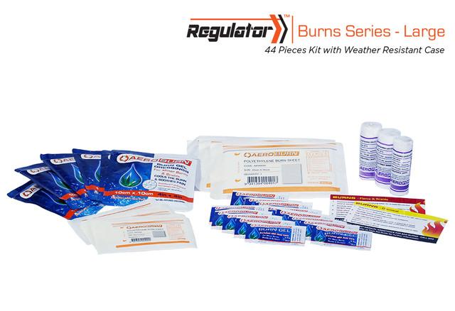 Regulator Burns Large - 44 Piece Kit