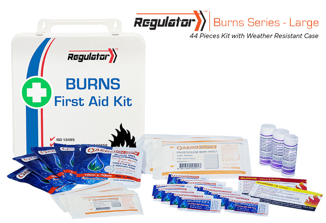 Regulator Burns Large - 44 Piece Kit - Weather Resistant Case