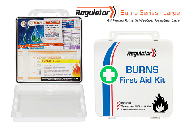 Regulator Burns Large - Weather Resistant Case