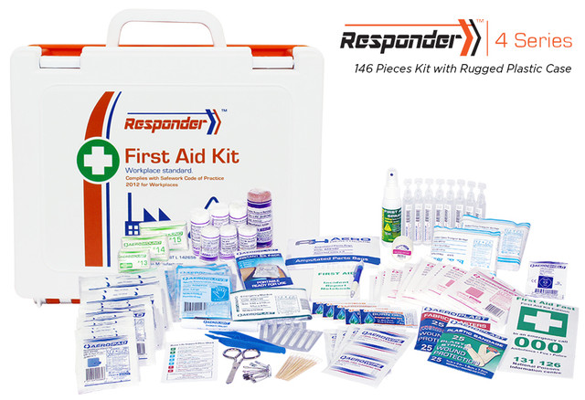 Responder 4 - 146 Piece Kit - Rugged Plastic Case