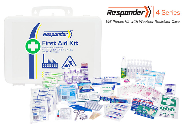 Responder 4 - 146 Piece Kit - Weather Resistant Case