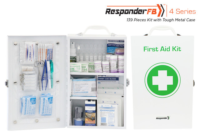 Responder 4 FB - 139 Piece Kit - Tough Metal Case
