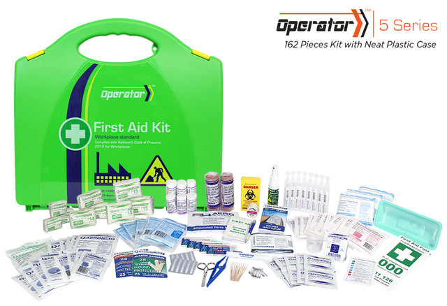 Operator 5 - 162 Piece Kit - Neat Plastic Case