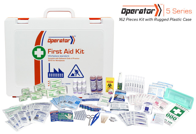 Operator 5 - 162 Piece Kit - Rugged Plastic Case