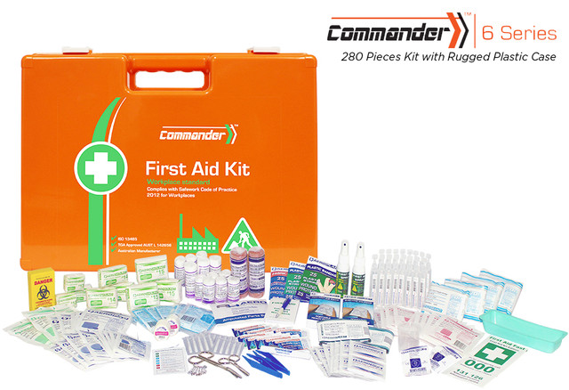 Commander 6 - 280 Piece Kit - Rugged Plastic Case