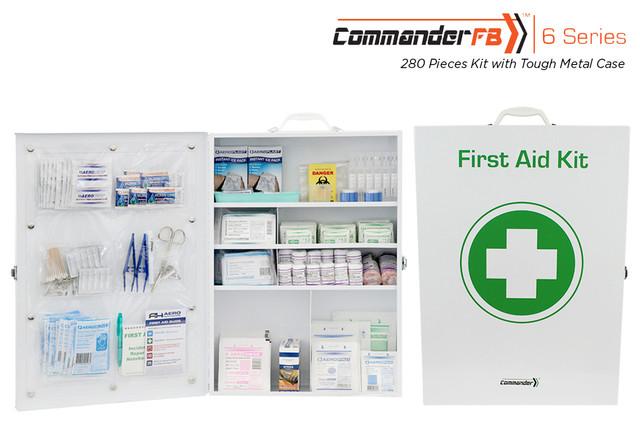 Commander 6 FB -  280 Piece Kit - Tough Metal Case