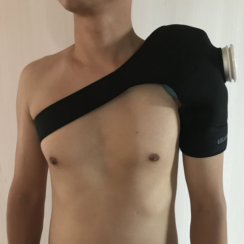Velcro Cold Compression Ice Pack - Shoulder