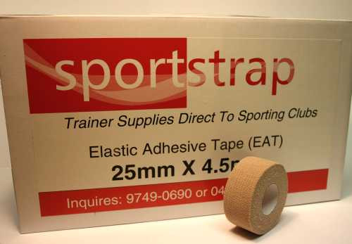 SportStrap Cotton Hand-Tear Stretch Tape - Box Size