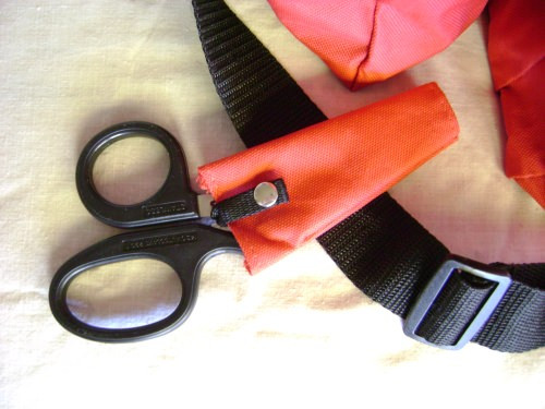 SportStrap Bum Bag - Scissors Holder (scissors not included)