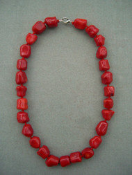 Natural Gem Stone Coral Beads