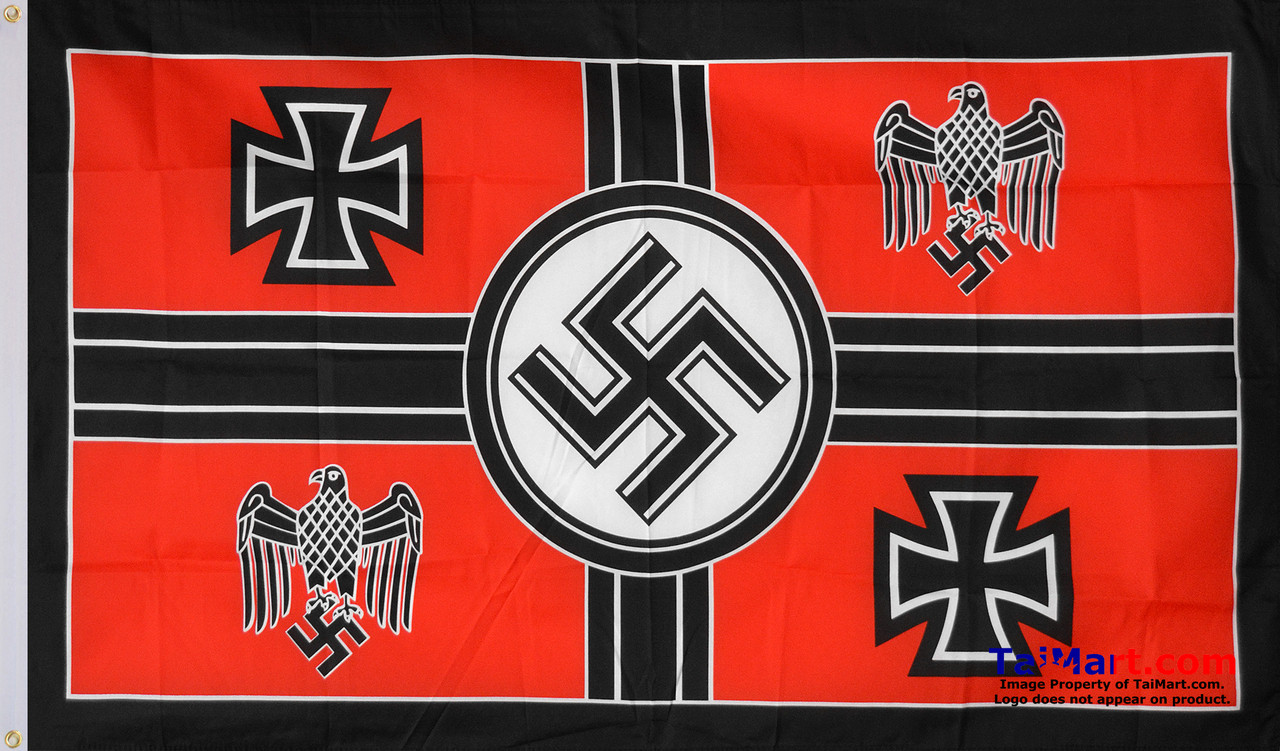 Nazi Wehrmacht Commander in Chief Flag 3x5' 90x150cm 100% Polyester