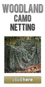 Woodland Camo Netting