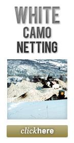 White Camo Netting