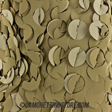 Desert Camo Netting - Pattern Closeup