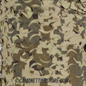 Desert Digital Camo Netting - Pattern Closeup