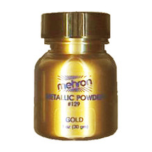 Gold Metallic Powder by Mehron 14g