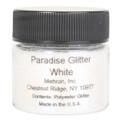 Paradise White Glitter by Mehron 10g