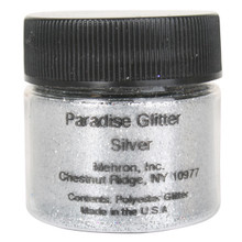 Paradise Silver Glitter by Mehron 10g