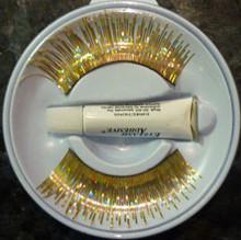 Holographic Gold Eyelashes