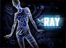 X Ray Body Art Templates