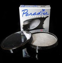 Paradise Brilliant Metallic Argente 40g - a gorgeous rich silver that applies like liquid metal!